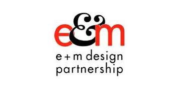 E & M Design Partnership logo